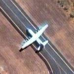 C-130H at Tindal Air Force Base (Google Maps)