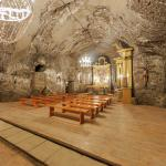 Underground church at the Bochnia Salt Mine