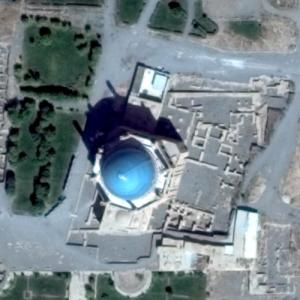 Dome of Soltaniyeh (Google Maps)