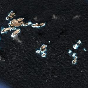 Bounty Islands (Google Maps)