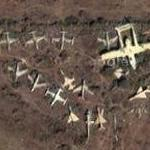 Airplane cemetery (Google Maps)