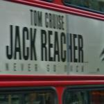 Jack Reacher movie ad