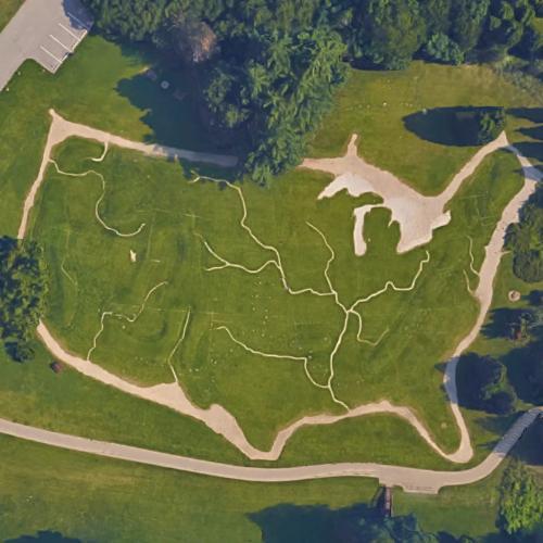 Terrain Map Of The US In Jenison MI Virtual Globetrotting - Us map terrain