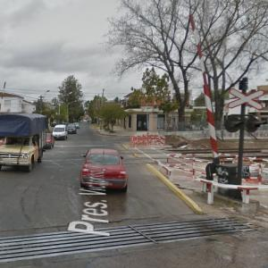 2013 Castelar rail accident (StreetView)