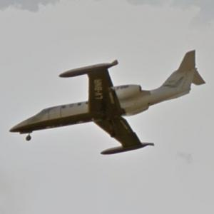 Patagonia Flight Services Learjet 35A [LV-BNR] (StreetView)