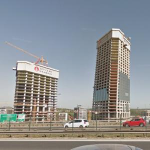 Skyland Istanbul under construction (StreetView)