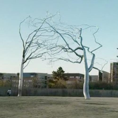 Magic Mushrooms and a Tree of Steel -- Roxy Paine @ James Cohan Gallery