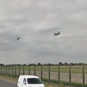 2 RAF Boeing Chinook HC.6s (StreetView)