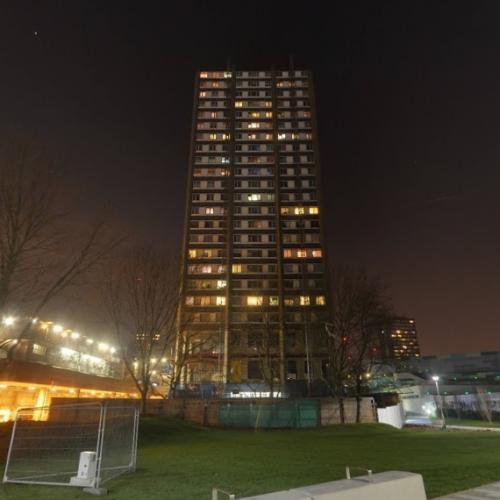 Grenfell Tower In Kensington United Kingdom Google Maps