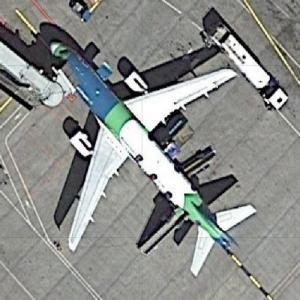 "Aer Lingus Airbus 320 ""Irish Rugby Team"" (Google Maps)"