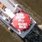 Haake beck parasol (Google Maps)
