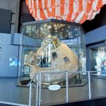 "Apollo 16 Command Module ""Casper"" and parachute"