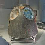 Tim Peake's Soyuz TMA-19M capsule at London Science Museum