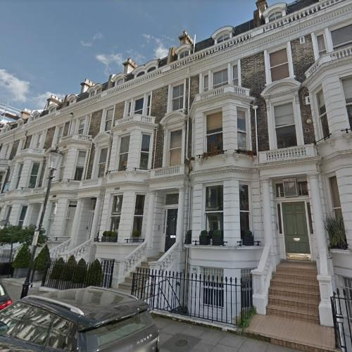 Freddie Mercury S House Former In Kensington United