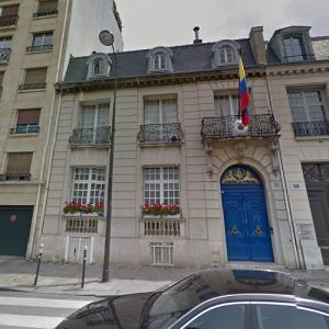 Embassy of Colombia, Paris (StreetView)