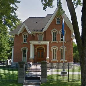 Embassy of Croatia, Ottawa (StreetView)