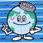 Water recycling center logo