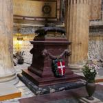 King Umberto I of Italy's tomb in the Pantheon