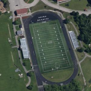 Portsmouth High School Main Sports Field (Google Maps)