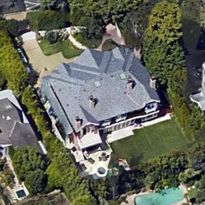 Christian Bale's House (Google Maps)