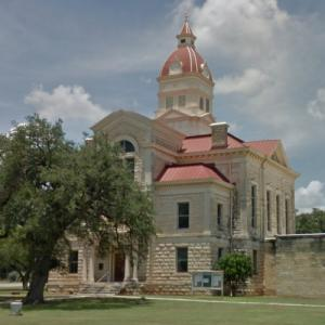 Bandera County Courthouse and Jail (StreetView)