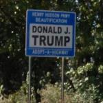 Donald J. Trump's 'Adopt A Highway' Sign
