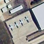 F-5 Freedom Fighter at Thebephatshwa / Molepolole Air Force Base (FBTP) (Google Maps)
