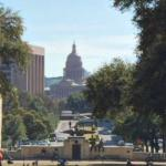 Texas Capitol View Corridor - South Mall of UT