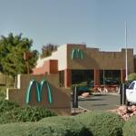 First McDonalds with a turquoise logo