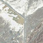 Almost-dry dam in Oman