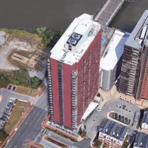 River Tower at Christina Landing (tallest building in Delaware) (Google Maps)
