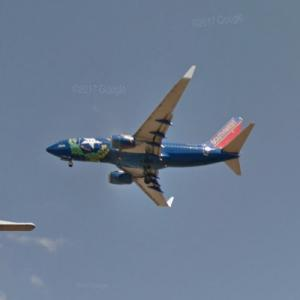 "Southwest Airlines Boeing 737-700 [N727SW] ""Nevada One"" Special Livery (StreetView)"