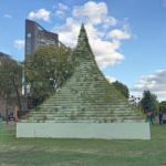 'The Living Pyramid' by Agnes Denes