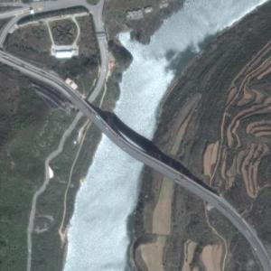 Danhe Bridge (world's longest masonry arch bridge) (Google Maps)