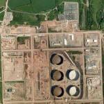 former ESSO Herbranston Refinery (Google Maps)