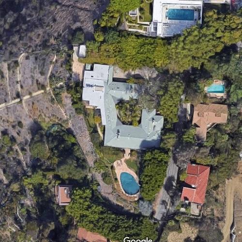 Elizabeth Taylor's House (Former) In Beverly Hills, CA