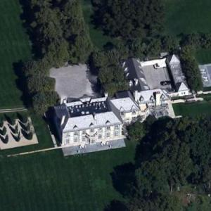 Jon Bon Jovi's House (Google Maps)