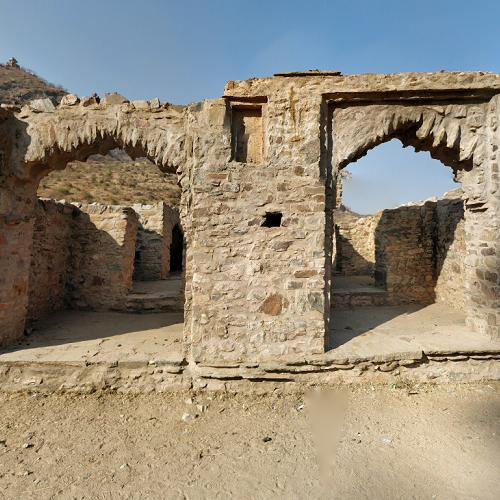 Haunted Places In India Hyderabad: Bhangarh Fort In Gola Ka Baas, India (Google Maps