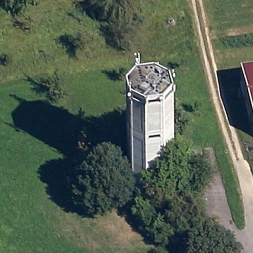 albershausen water tower in albershausen germany bing maps. Black Bedroom Furniture Sets. Home Design Ideas