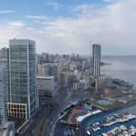 View of Beirut from Marina Tower