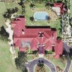 Chris Evert's House (Google Maps)