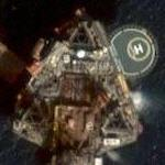 Oil platform (Google Maps)