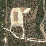 Cloudcroft High School Football Field (Google Maps)