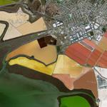 Cargill Salt Ponds (Google Maps)