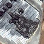 Burned warehouse (Google Maps)