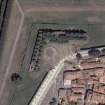 Fortifications around Lucca (Google Maps)