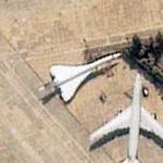 Concorde parked at Heathrow Airport (Google Maps)