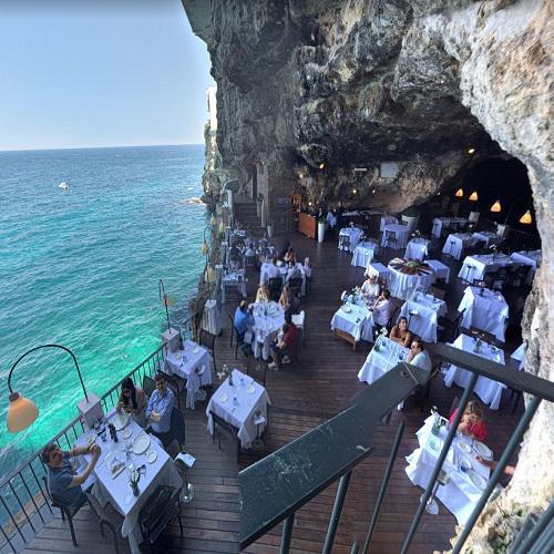 Grotta Palazzese At Polignano A Mare In Polignano A Mare