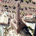 Eiffel Tower in Paris Hotel (Google Maps)