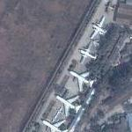 Airplane Museum at Guangzhou-East Air Force Base (Google Maps)